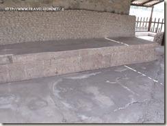 Decoracion de Banquetas en el Palacio Quemado de Tula