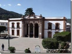 El Teatro Juárez en El Oro, Estado de México