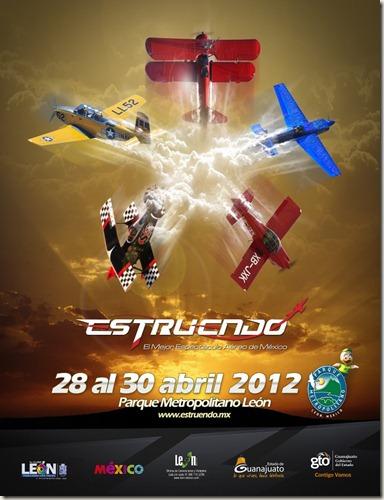 Espectaculo Estruendo 2012 en Leon, Guanajuato
