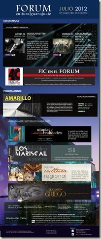FCG: Eventos del 19 al 22 de Julio 2012