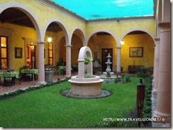 Interior de la Hacienda Cañada de Negros