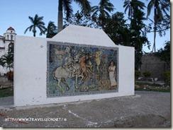 Mural en el Jardin de La Antigua, Veracruz