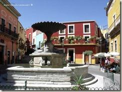 La Plaza del Baratillo en Guanajuato