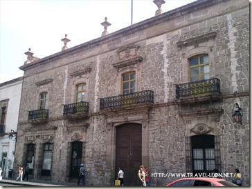 Casa del Tercer Conde de la Sierra Gorda en Morelia