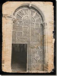 Puerta Principal Parroquia Santa Rosa de Lima en Guanajuato