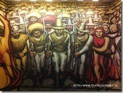 Mural del Porfirismo a la Revolución de Siqueiros