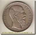 50 Centavos del Imperio de Maximiliano