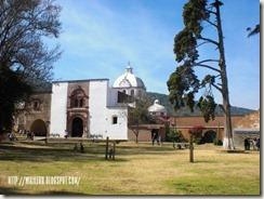 Convento Franciscano en Cruz en Tzintzuntzan