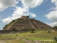 Zonas Arqueológicas: Pirámide del Cerrito, Querétaro