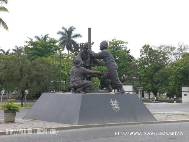 Monumento al Petrolero en Poza Rica, Veracruz