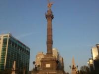 El Monumento de la Independencia en el DF