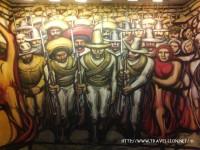 Mural del Porfirismo a la Revolución