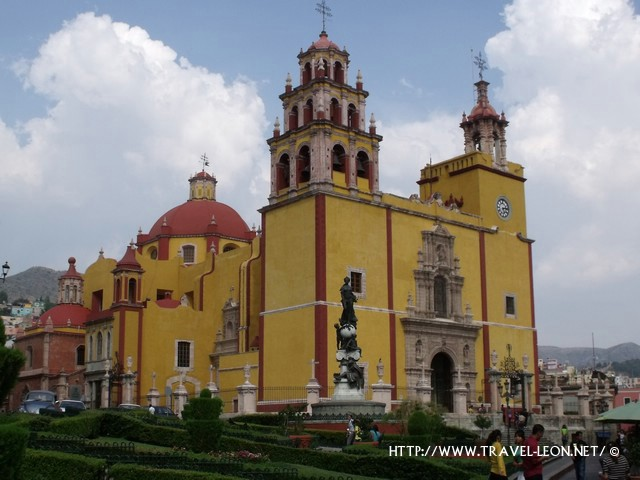 La Plaza de la Paz en Guanajuato Capital