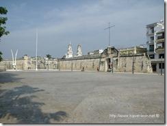 Baluarte de la Soledad y Puerta del Mar en Campeche