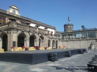 El Torreón del Alcázar del Castillo de Chapultepec