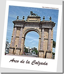 Arco de la Calzada en Leon, Guanajuato