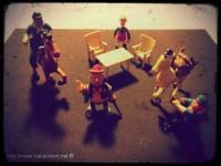 Zona Retro: Construcciones y Personajes Exin West