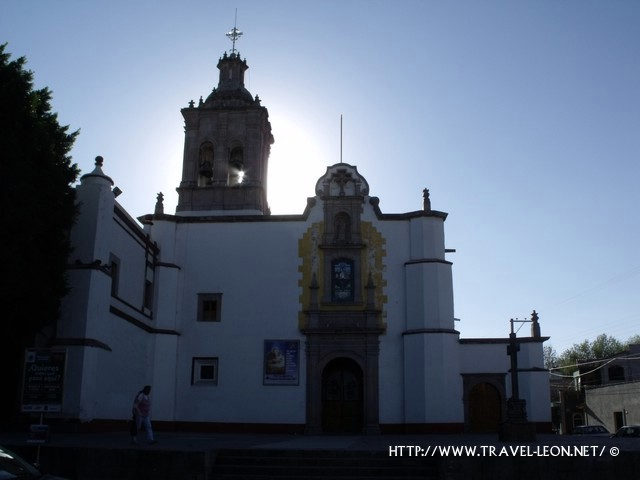 Santuario del Pueblito en Queretaro