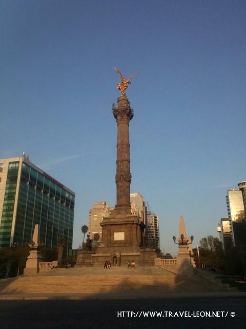 Monumento a la Independencia en el DF